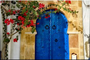 Tynisia Blue Door